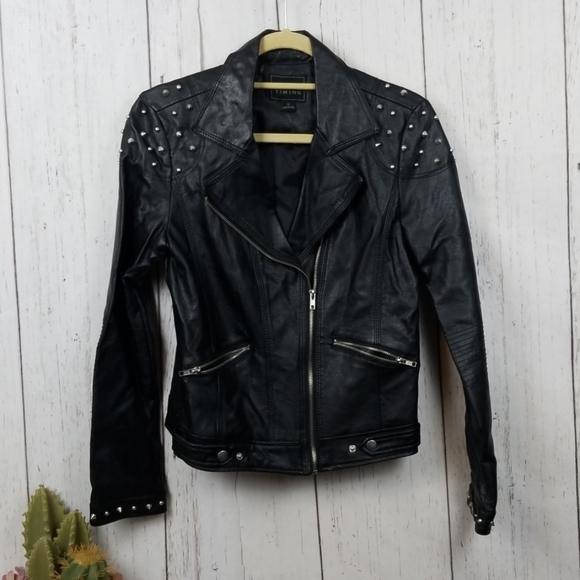 Timing Jackets & Blazers - Timing Leather jacket size medium